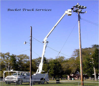 Bucket Trucks and Man Lifts